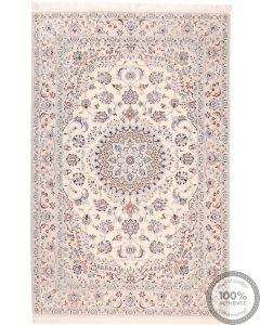 Persian Nain 9La With Silk Highlights - 7'8 x 5'1