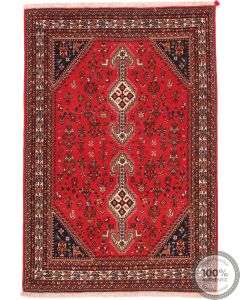 Persian Nasrabad rug red