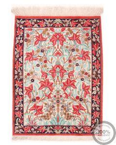 Qum silk rug  - 2'5 x 1'8