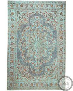 Vintage Tabriz Rug  12'6 x 9'6 Front