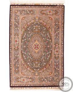 Qum silk rug - 6'8 x 4'3