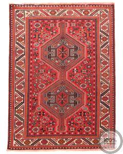 Persian Nomadic Shiraz rug - Orange Motifs
