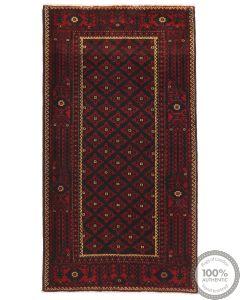 Persian Balouch Rug - 6'4 x 3'5