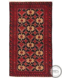 Persian Balouch Rug - 6'8 x 3'8