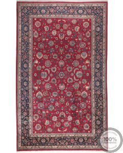 Persian Antique Mashad rug - 16.1 x 9.6
