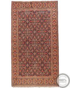 Antique Persian Khorasan rug - 8'5 x 3'3
