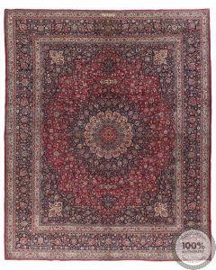 Persian Mashad Carpet signed by Amal Ghazi Khaeni