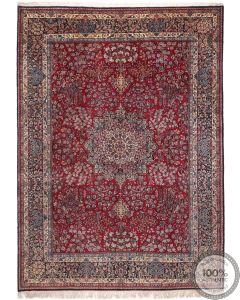 Persian Kerman rug - 13'4 x 9'9