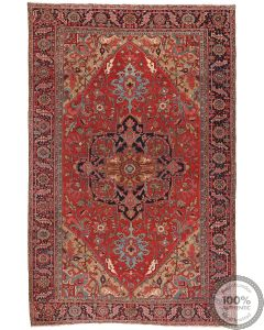 Persian Heriz Rug Circa 1900 - 14'5 x 9'31
