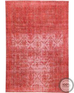 Red Vintage Rug - front