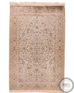 Keshan / Kashan Pure Silk - 7'5 x 4'7
