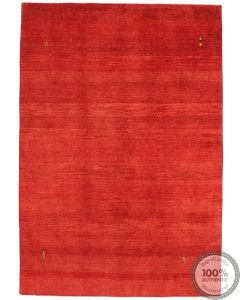 Gabbeh Rug in Red Front