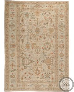 Sultanabad Rug in Lilac - front