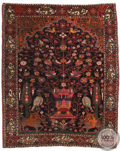 Antique Bakhtiar rug - Circa 1900