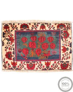 Sirjan Balouch rug - 2'6 x 1'9