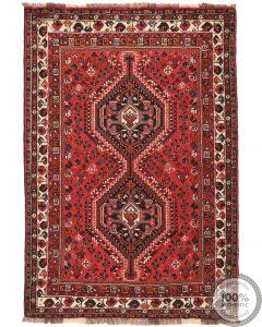 Persian Nomadic Shiraz rug - 5'3 x 3'7