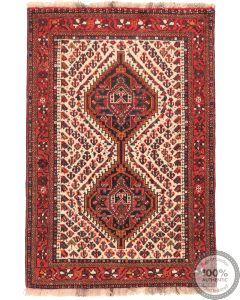 Persian Nomadic Shiraz rug - 5' x 3'3