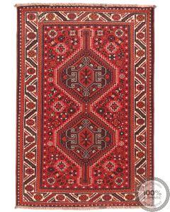 Persian nomadic Shiraz rug - 5'2 x 3'5