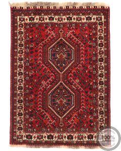 Persian Nomadic Shiraz rug - 4'8 x 3'4