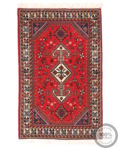 Persian Nasrabad rug - 4'1 x 2'6