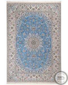 Nain rug with silk higlights 9 LA signed by Habibian