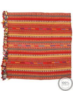 Kashgai Qashgai Kurdi Kilim - 6'8 x 6'7