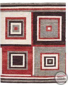 Garous Ziegler design modern rug - Squared Patterns 6 x 4'9