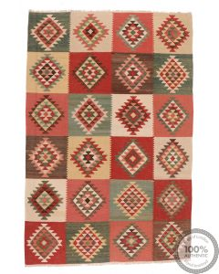 Shirvan kilim rug 10'2 x 6'7