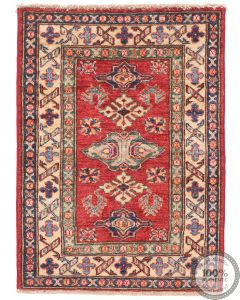 Caucasian Kazak design rug red - 2'72 x 2