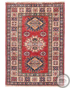 Caucasian Kazak design rug Red 2'7 x 2