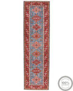 Caucasian Kazak Design Runner rug 10 x 2'7