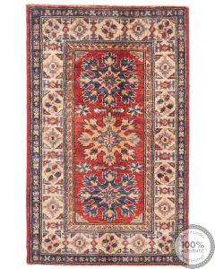 Caucasian Kazak design rug blue