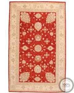 Garous / Ziegler Design Rug - Red 10'4 x 6'6
