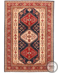Caucasian Kazak design rug 9'78 x 6'73