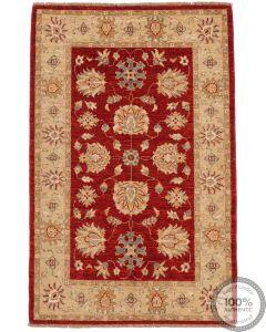 Garous / Ziegler Design Rug - Red 5'2 x 3'2