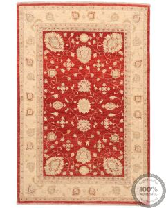 Garous / Ziegler design Rug - Red 6 x 4