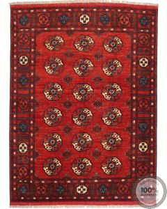 Ersari design Afghan rug 6'1 x 8