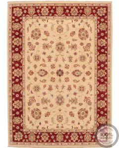 Garous / Ziegler Rug - beige & red 8 x 5'6