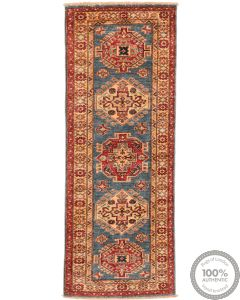 Caucasian Kazak design runner rug
