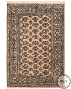 Bokhara design rug beige - 6'1 x 4
