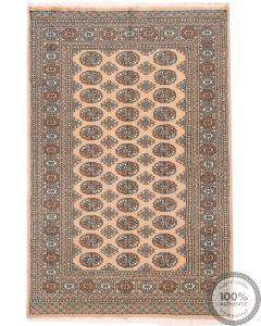 Bokhara design rug beige - 6 x 4'1