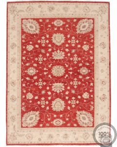 Garous / Ziegler design Rug - Red 7'6 x 5'6