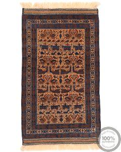 Fine Balouch Baluch rug - 4'4 x 2'7