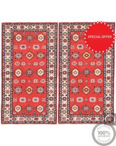 Caucasian Kazak design - Pair