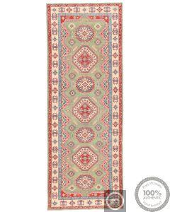 Caucasian Design Kazak Rug - Green