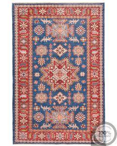 Caucasian Kazak design rug dark blue