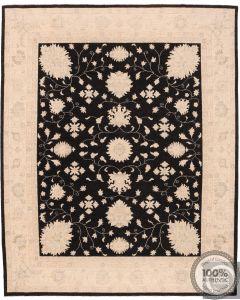 Garous / Ziegler Design Rug Black 9'8 x 7'8