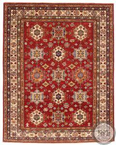 Caucasian Kazak design rug 6'4 x 5'1