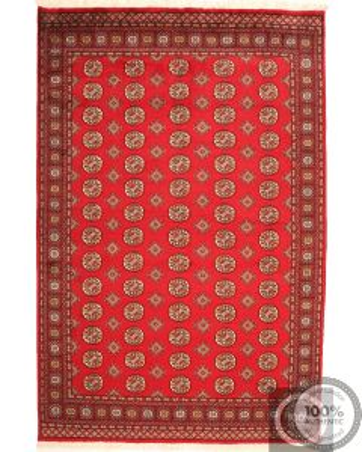 Bokhara Red - Gul Design 9'9 x 6'5