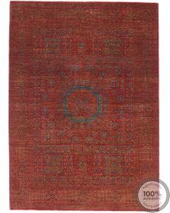 Red Mamluk Design Rug 8 x 5'5 front